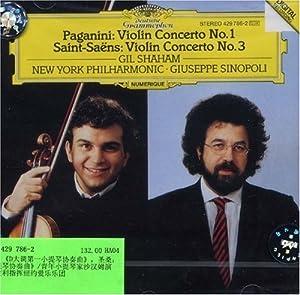 尼 D大调第1小提琴协奏曲 圣桑 D大调第3小提琴协奏曲 429 786 2 图片