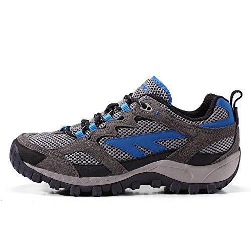 HI-TEC 海泰客 新品 低帮男款徒步鞋 印尼进口透气防滑户外登山鞋 31-5C004