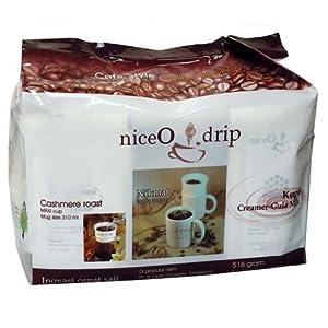 Niceo drip 奶爵牌 家庭装咖啡(固体饮料)516g 37.3元包邮的图片