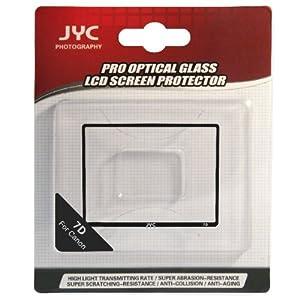 唯卓 JYC 7D 金刚膜 佳能 EOS 7D 专用金刚膜 保护膜 相机贴膜 LCD防护屏贴  进口专业光学玻璃金刚护屏  防老化 防尘 防刮伤 防潮 对液晶显示屏或工作界面全面防护