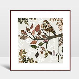 风格: 木框现代中式装饰画 组合形式: 单幅(多幅组合请分别加入购物