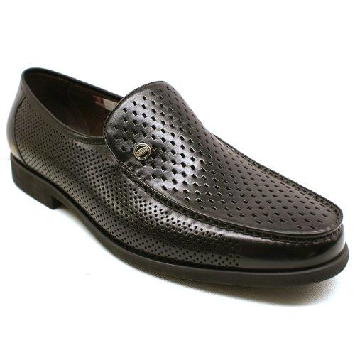 Goldlion 金利来 正品 免邮 牛皮 简约时尚 经典款套脚 透气镂空 凉鞋 洞洞鞋 英伦男鞋 男士凉鞋