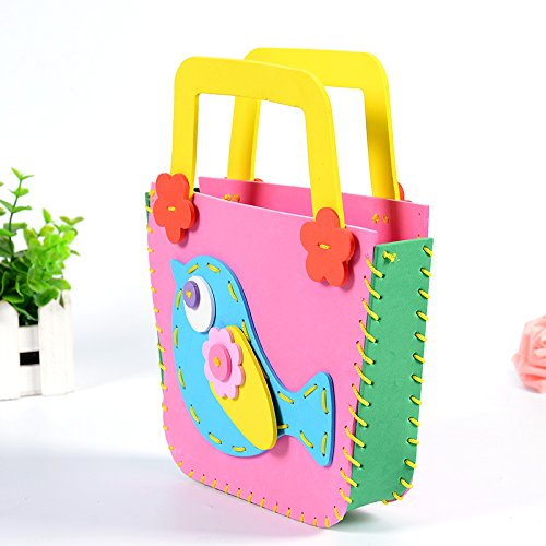 孩派eva儿童手工制作材料 diy手工材料幼儿 k1-10包包