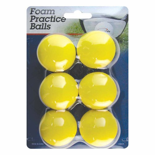 Intech Foam Practice Balls, 6 Pack