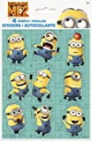 Despicable Me Sticker Sheets, 4ct