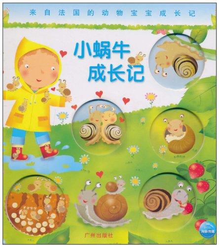 动物宝宝成长记:小蜗牛成长记图片
