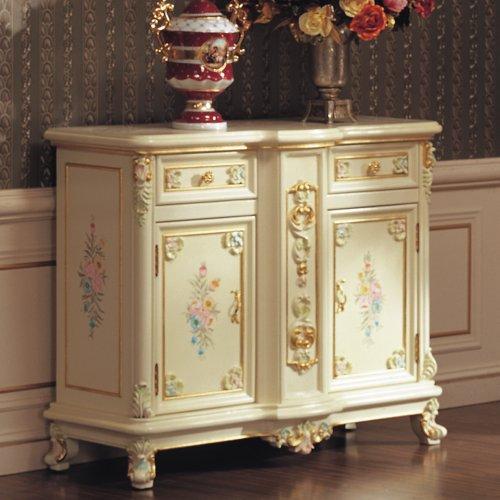 fp 沛俪菲帕 欧式奢华 浪漫古典家具 经典热卖手工雕刻实木鞋柜