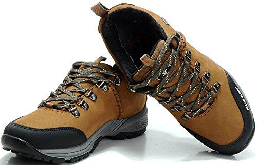 xiangguan 祥冠头层皮低帮防水登山鞋徒步鞋运动鞋男鞋