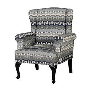 百伽 简约时尚北欧风格布艺沙发 单人位沙发个性客厅沙发