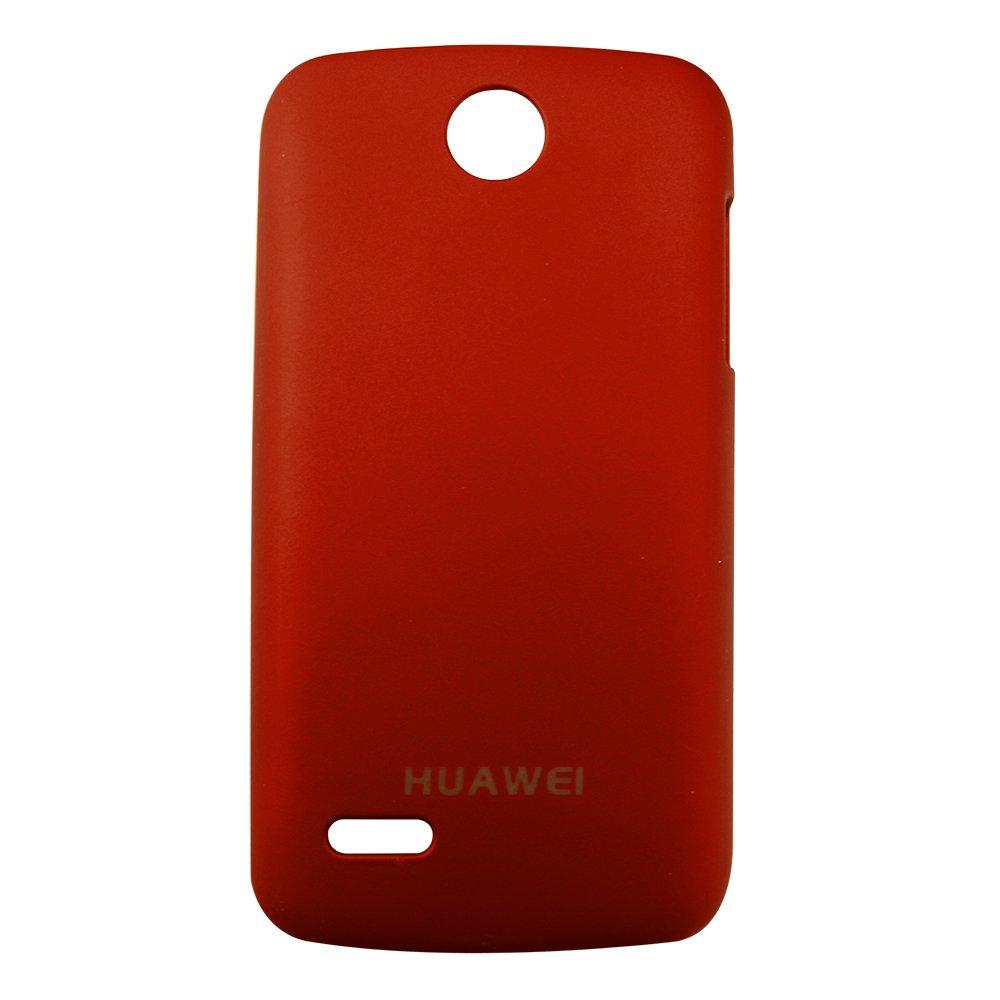 乾甲天华为c8812超薄磨砂手机保护套(红色)