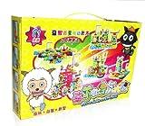 齐峰 创意大比拼盒装81片电动积木 益智玩具-图片