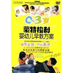 0-3岁蒙特梭利婴幼儿早教方案(DVD)
