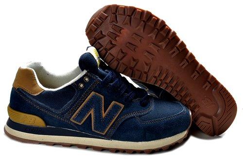 New Balance 新百伦 574经典系列  时尚 旅游 运动  跑步鞋 男士潮流鞋 新成NB:18深蓝牛仔布