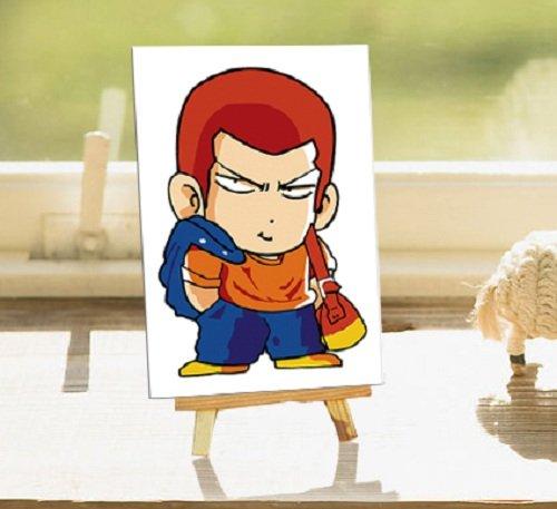 自油自画 数字油画diy手绘动漫卡通儿童迷你画 樱木花道 正品 10*15