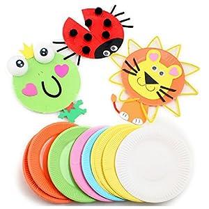 儿童手工创意纸盘