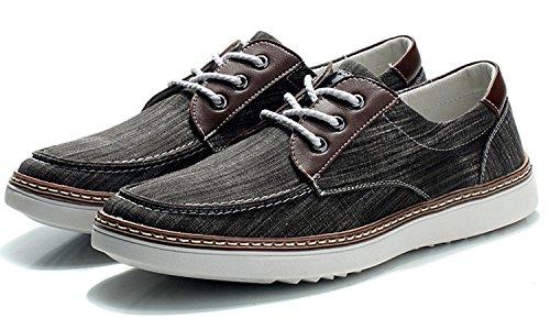 mulinsen 木林森 2014新款时尚系带布面 透气运动休闲板鞋