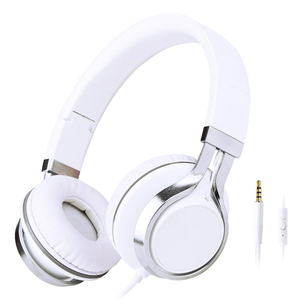 sound intone hd200 手机耳机头戴式带话筒线控 单孔.