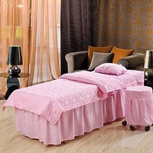 欧式床罩桃粉色