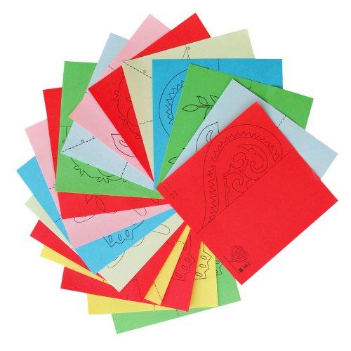 回至diy剪纸手工材料包 儿童剪窗花彩纸益智动手小制作 趣味亲子活动