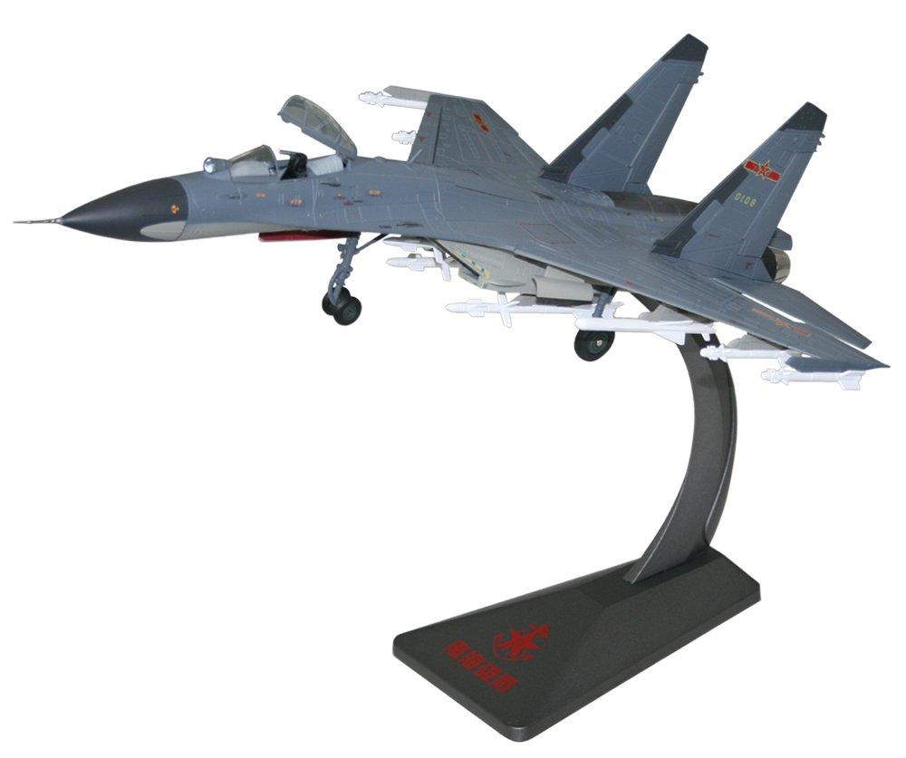 1:48歼11b战斗机模型-仿真合金苏27飞机模型-高档商务