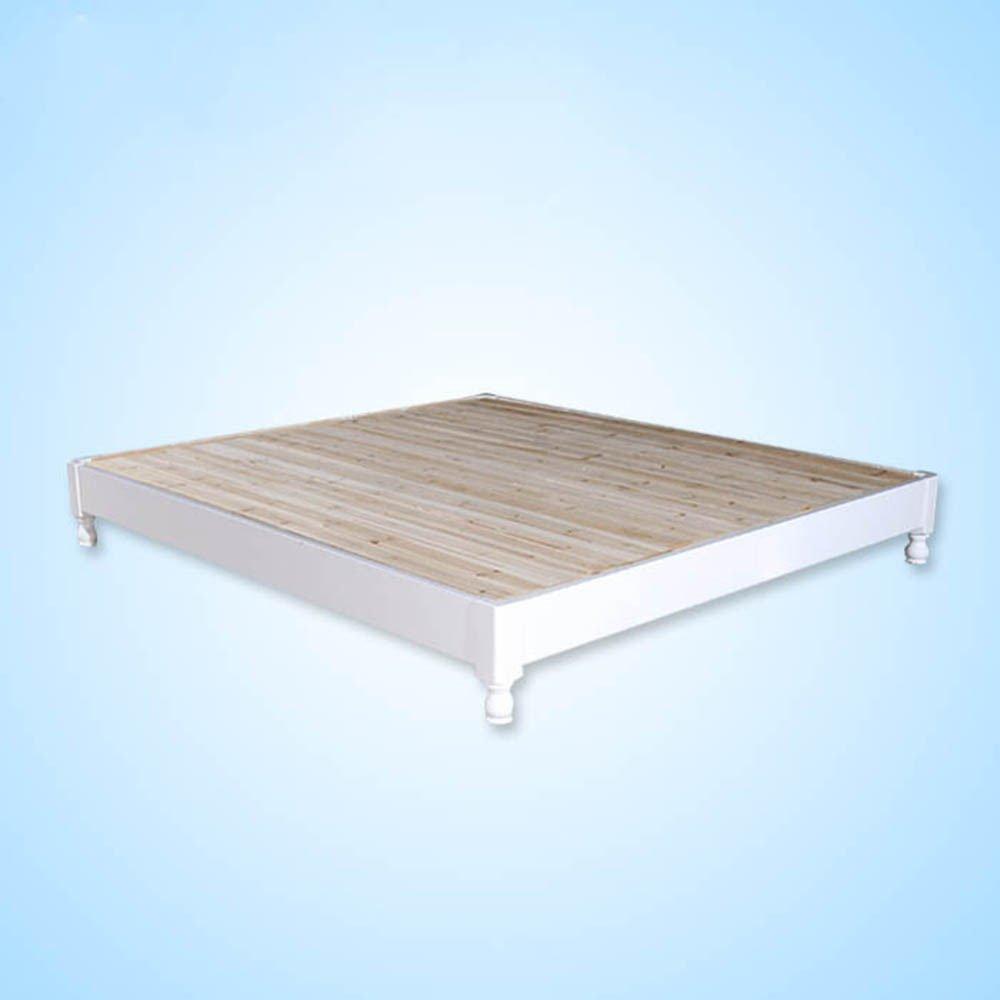 8米双人床儿童床欧式床韩式橡木家具实木 1500mm*2000mm 原木色