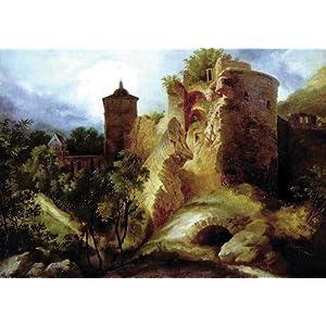 走遍全球海量图片 19世纪风景画 德国大师卡尔·布勒兴 安格尔博物馆