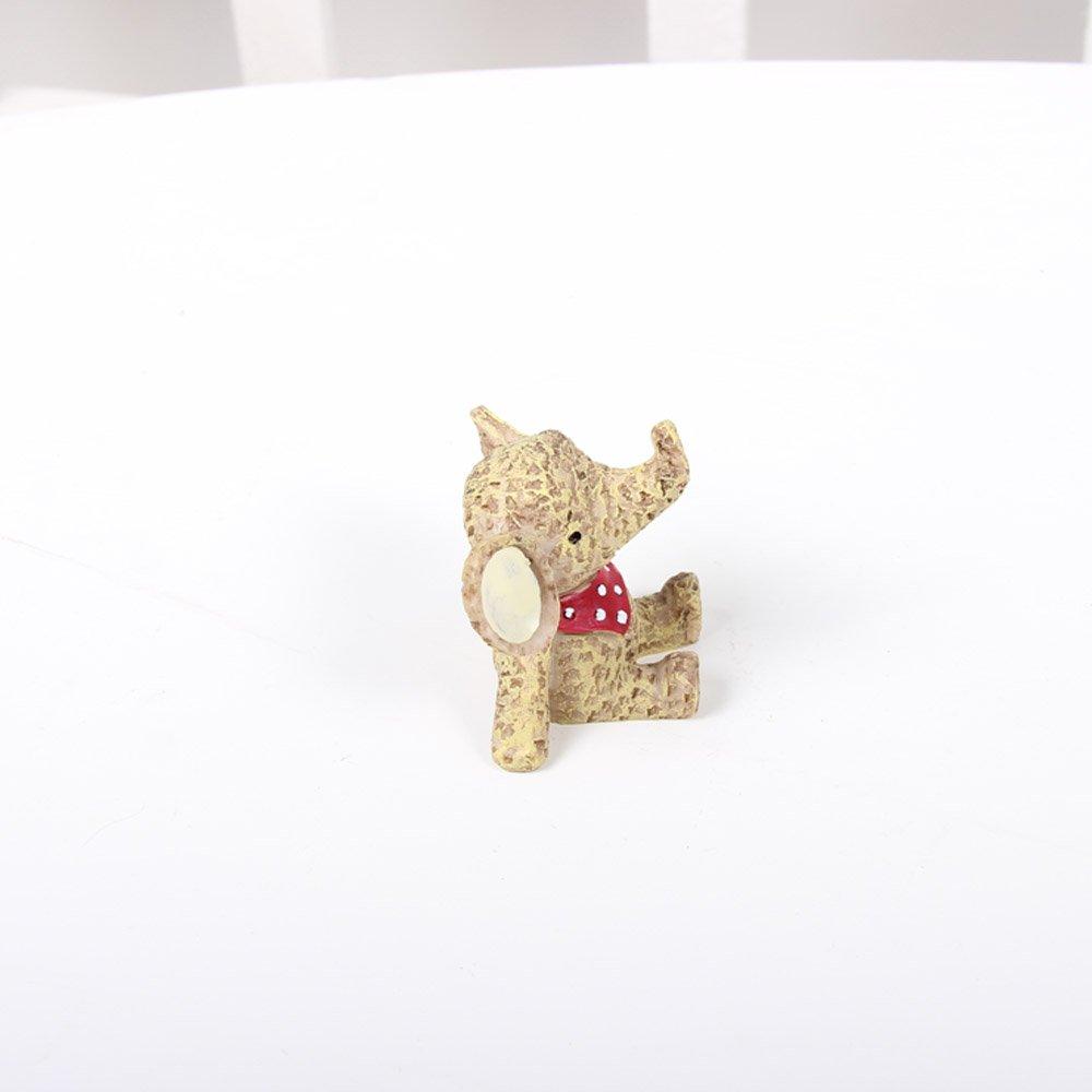 zakka杂货仰望天空小动物桌面摆件 创意树脂工艺品家居摆设装饰品