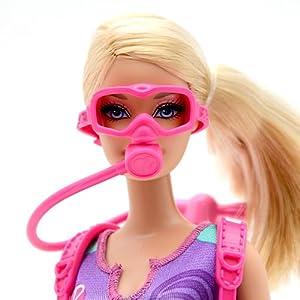 Barbie 芭比 粉红舞鞋之旋转舞步套装Y8517  ¥89,梦想之海底宝藏探测员 Y9347 ¥89