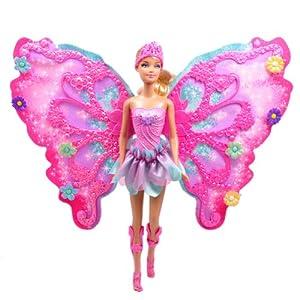 Barbie芭比娃娃 创意花仙子(暑期广告) 粉色 2969