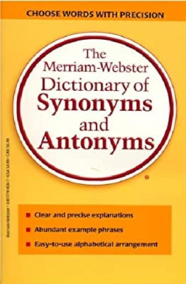 The Merriam-Webster Dictionary of Synonyms and Antonyms.pdf