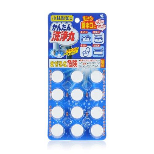 KOBAYASHI 小林日化 排水管清道夫(常规装) 12片