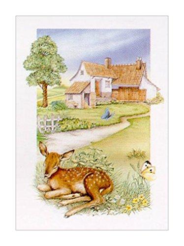 小鹿装饰画|小鹿|鹿装饰画|鹿的风格|鹿的种类|乡村家园装饰画|森林