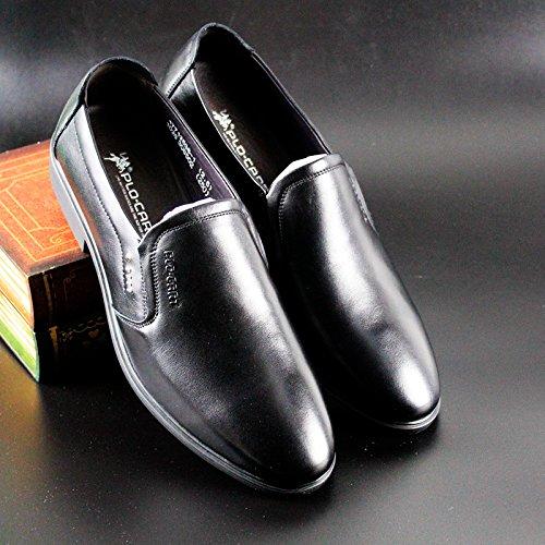 PLO·CART保罗盖帝男鞋男士商务休闲皮鞋真皮17712538-1