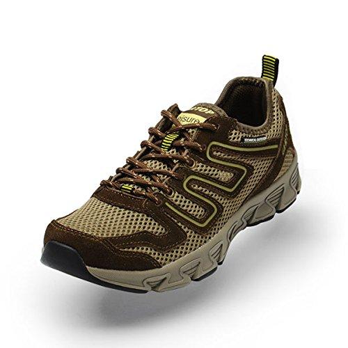 GERTOP 德意志山峰 网布鞋 夏季超轻透气排汗网面徒步鞋 登山鞋男鞋