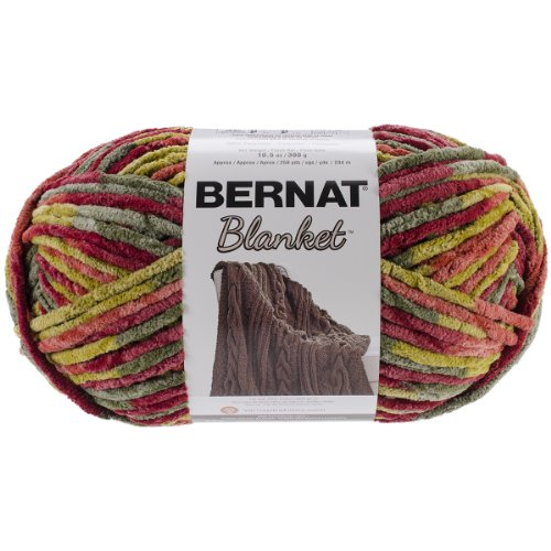 Spinrite Bernat Blanket Big Ball Yarn, Harvest
