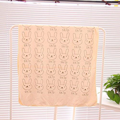 韩国糖果色卡通小动物浴巾 柔软超吸水透气加大加厚毛巾 儿童浴巾