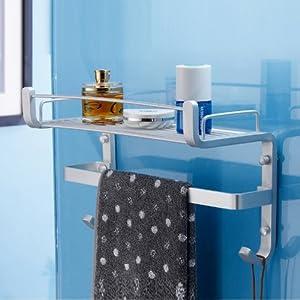 卡贝太空铝卫浴挂件_卡贝卫浴太空铝挂件卫生间置物架层架壁挂浴
