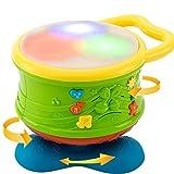 marjst 明顺佳 宝宝手拍鼓婴儿玩具儿童拍拍鼓音乐早教益智助眠玩具0-12个月-图片