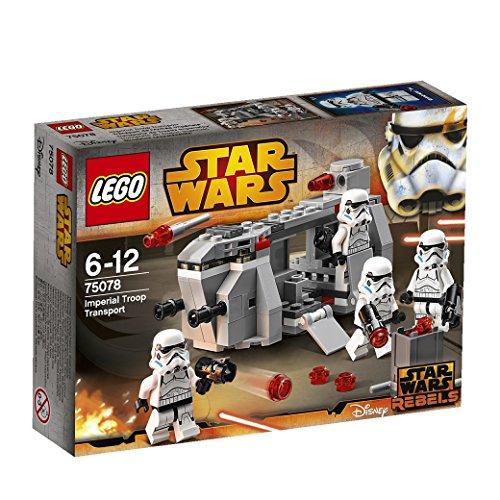 Lego 乐高 75078 星球大战义军系列 帝国部队运输船