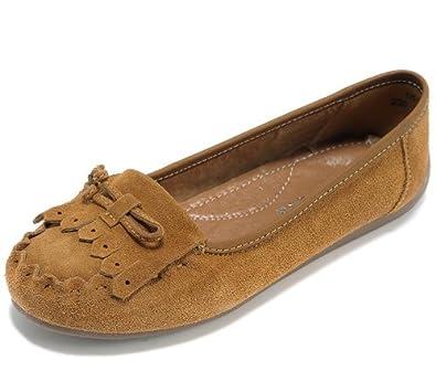 浅棕色休闲皮鞋搭配