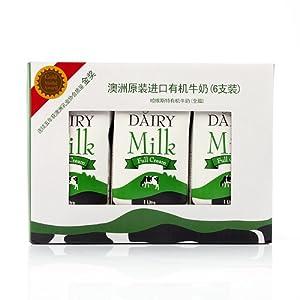LivingPlanet生机谷有机全脂牛奶1L X 6 =¥79.90