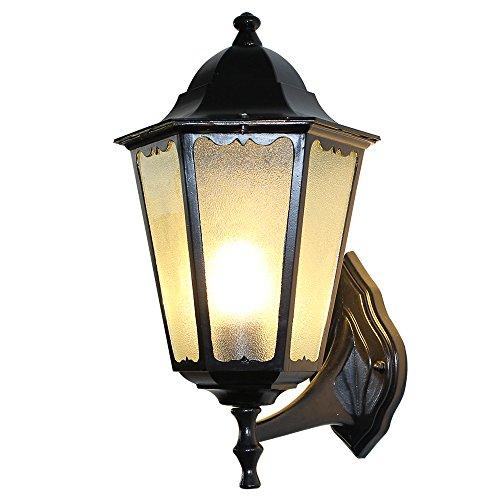 七源美式复古壁灯简约个性创意壁灯户外仿古欧式壁灯工业大号(大六角