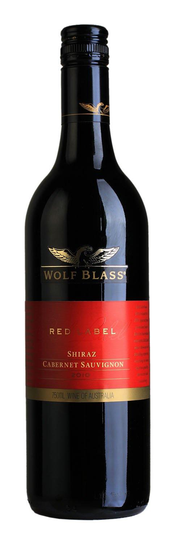 澳大利亚原瓶进口红酒 (wolf blass red label shiraz