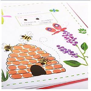 儿童手指画书涂鸦教程