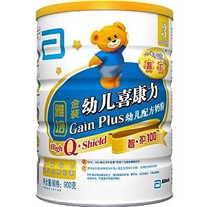 Abbott雅培金装幼儿喜康力智护奶粉900g(3段) ¥145