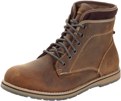 Skechers 斯凯奇 USA系列 KEPLER- ORBAY 63540 男 商务休闲鞋