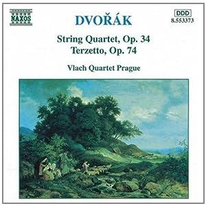 D d小调第九弦乐四重奏曲和C大调三重奏曲 Dvorak String Quartet,