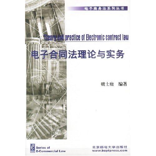 电子合同法理论与实务/电子商务法系列丛书