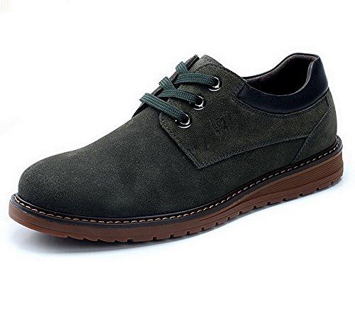 Mulinsen 木林森 男士真皮板鞋 头层皮鞋子 英伦时尚休闲鞋 低帮舒适男鞋 MQ8L14277