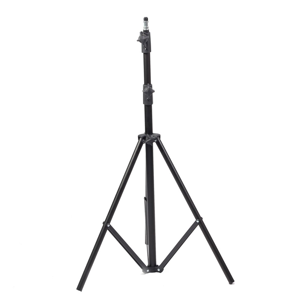 jm 2m摄影灯架铝合金多功能三脚架u2米外拍803闪光灯架柔光箱棚支架